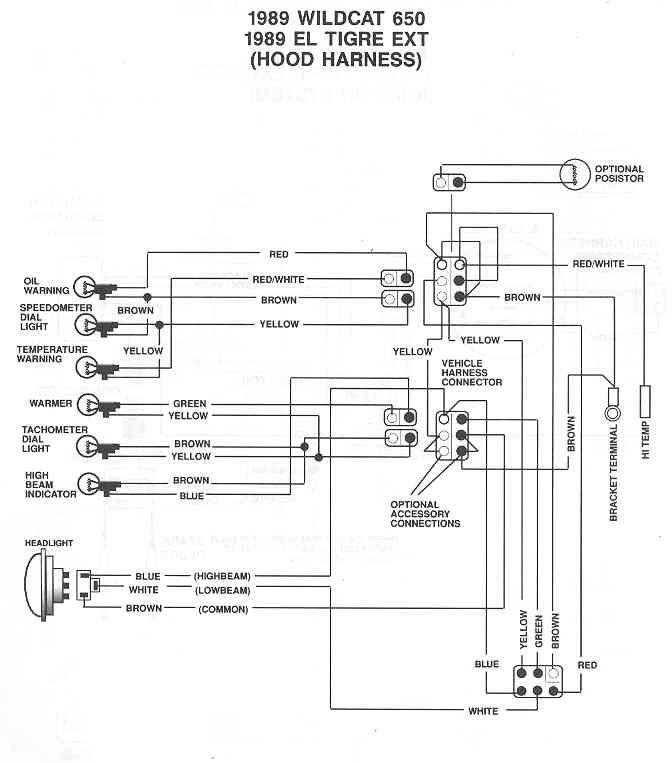 Arctic Cat 440 Wiring Diagram - Wiring Diagrams Schema
