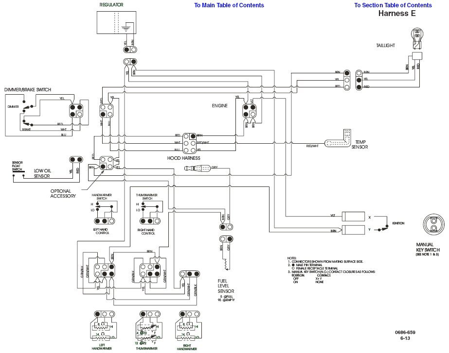Harley Davidson Snowmobile Wiring Diagram Better Wiring Diagram Online
