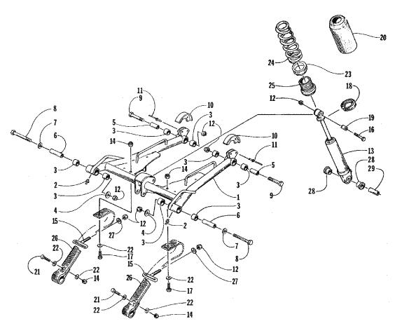 2010 ford focus front suspension diagram