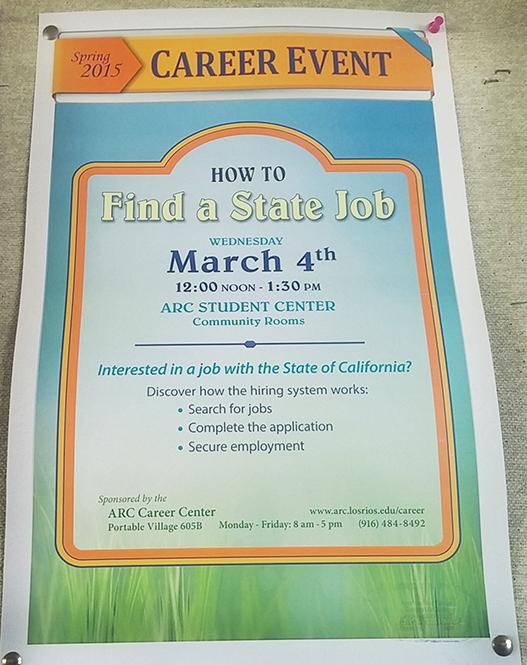 Employment workshop in Student Center to focus on state jobs The