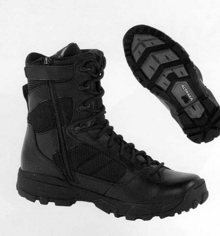 Altama Black 8 Waterproof Sidezip Litespeed Boot 3450