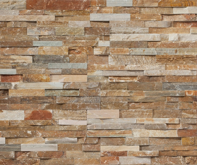 3d Wallpaper Or Wall Panel Or Wall Panels Stacked Stone Real Stone Cladding Area Floors