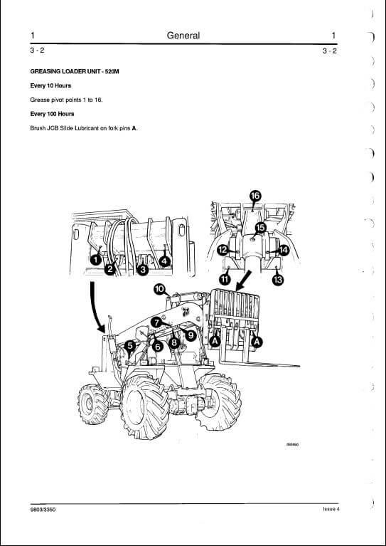 jcb skid steer wiring schematic
