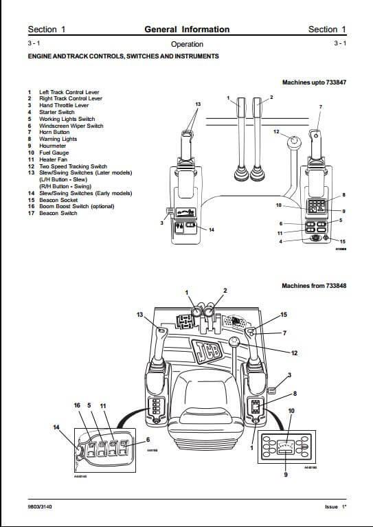 jcb excavator wiring diagram