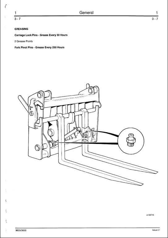 JCB 525,527,530,535,537 Series Telescopic Handler Service Manual A