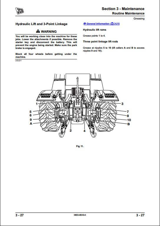 jcb 520 wiring diagram