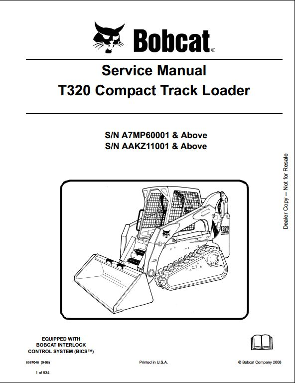 DIAGRAM Bobcat T320 Parts Diagram FULL Version HD Quality Parts