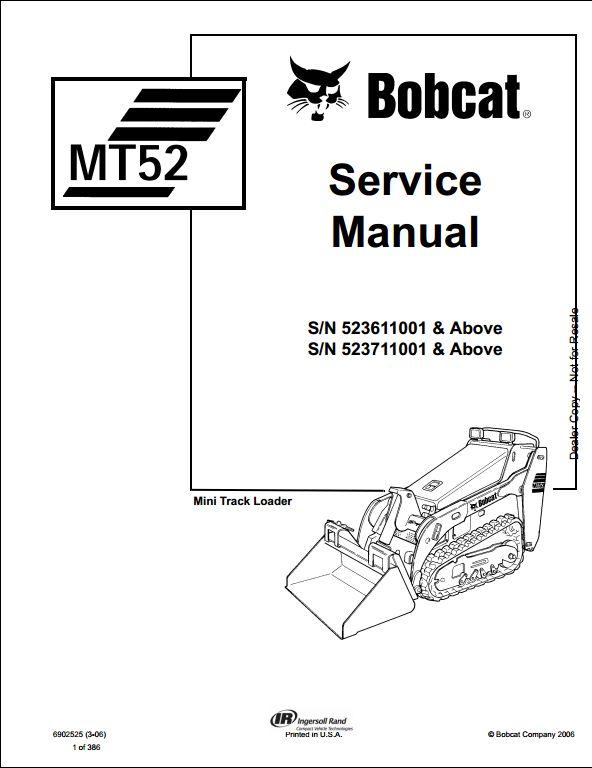 bobcat fuse box manual