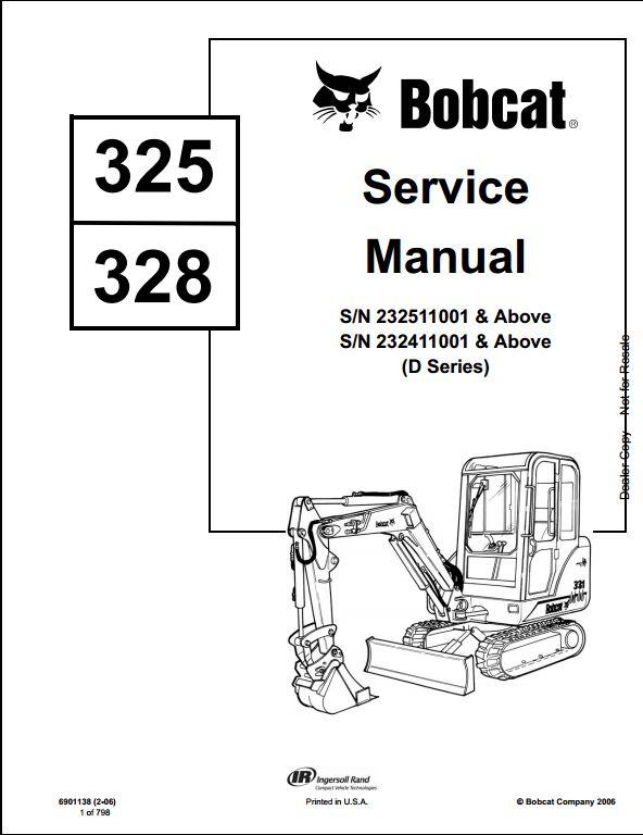 bobcat 325 parts diagram