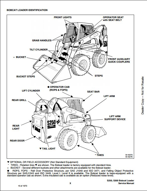 bobcat s250 belt diagram