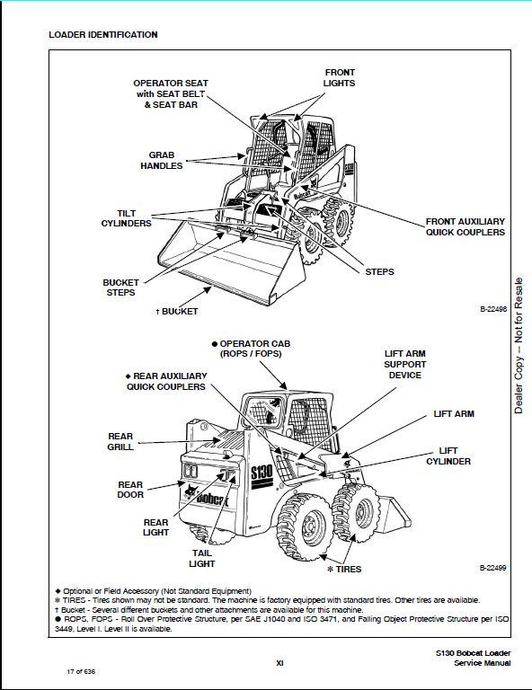 bobcat s130 wiring diagram