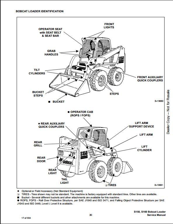 s150 bobcat wiring schematic