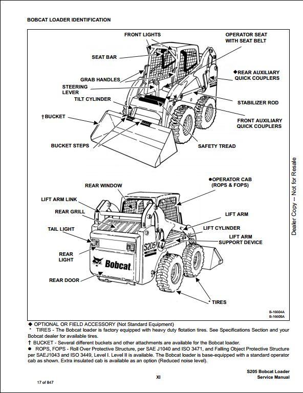 bobcat 7 pin wiring diagram
