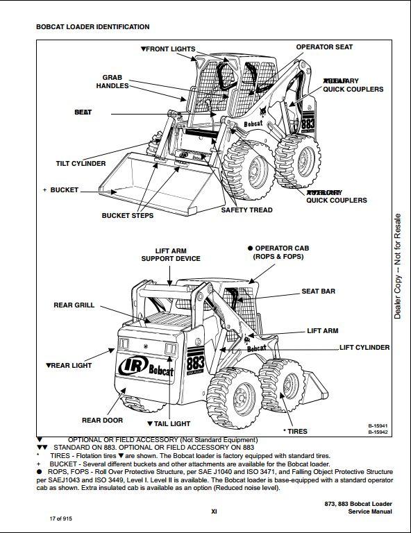 bobcat engine schematics