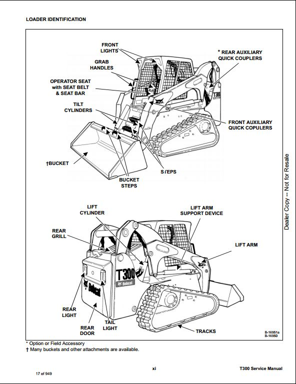 bobcat electrical schematic