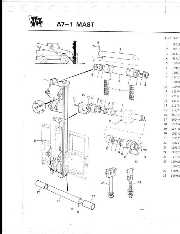 jcb 940 wiring schematics