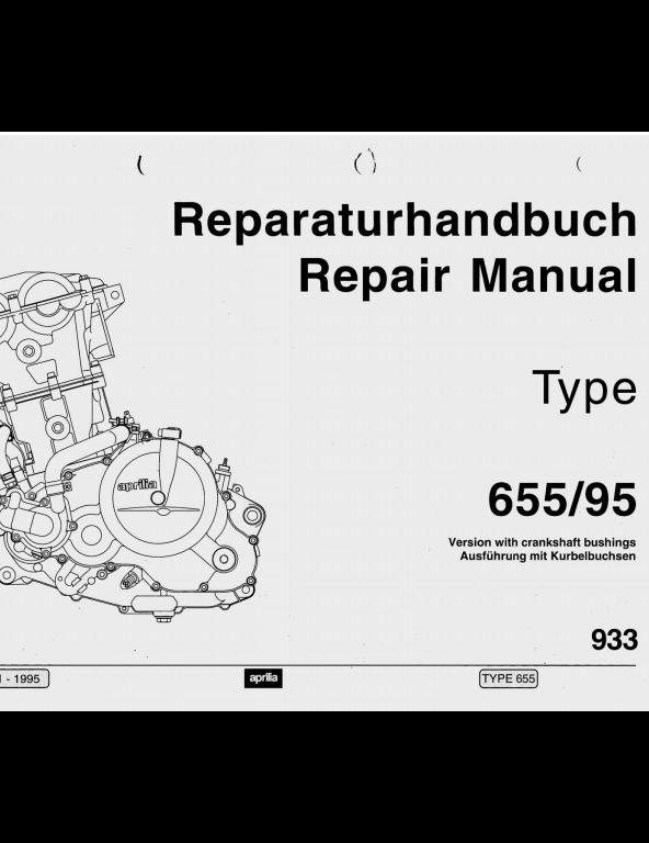 1995 Aprilia Motorcycle Rotax Engine 655 Service Repair Workshop