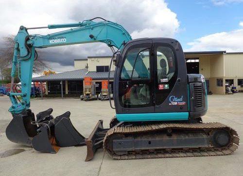 Kobelco Model SK70SR-1E Hydraulic Excavator Service Repair Workshop