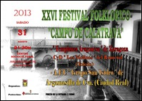 Argamasilla de Calatrava despide el mes de agosto con un festival folclórico del grupo local más dos invitados de Toledo y Zaragoza