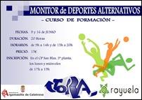 El Ayuntamiento de Argamasilla de Calatrava y la asociación JORA organizan un curso para formar monitores de deportes alternativos