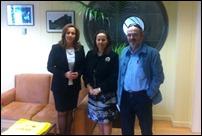 La alcaldesa de Argamasilla de Calatrava se reúne con la Directora General de Medio Ambiente de la Junta de Comunidades para interesarse por la evolución de los tramites del POM