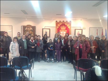 Asociaciones de voluntariado y el ayuntamiento de Argamasilla de Calatrava comparten un encuentro para hacer balance de 2013 y compartir los proyectos de cara al nuevo año