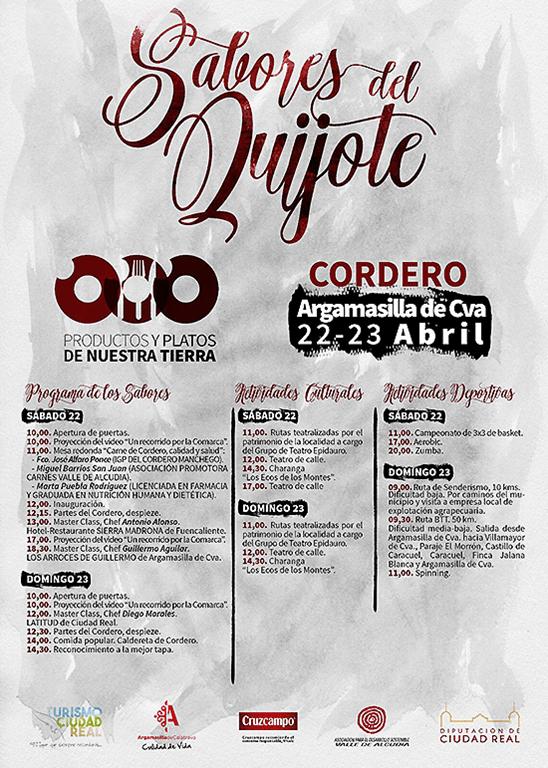 """Este fin de semana podrás disfrutar de los """"Sabores del Quijote"""", con jornadas gastronómicas dedicadas al cordero, en el parque Huerta Asaura"""