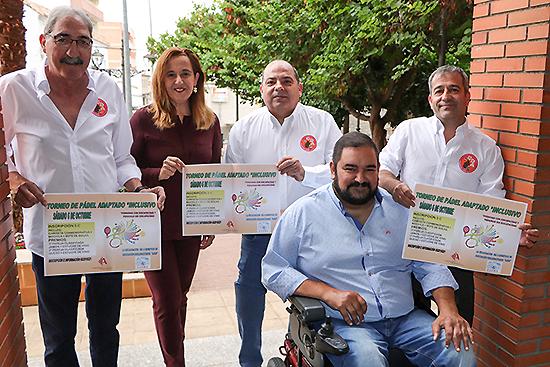 El 6 de octubre se celebra el I Torneo de Pádel Adaptado e Inclusivo