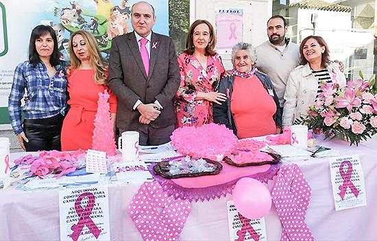 Argamasilla de Calatrava, con las personas enfermas de cáncer de mama y contribuyendo a la investigación