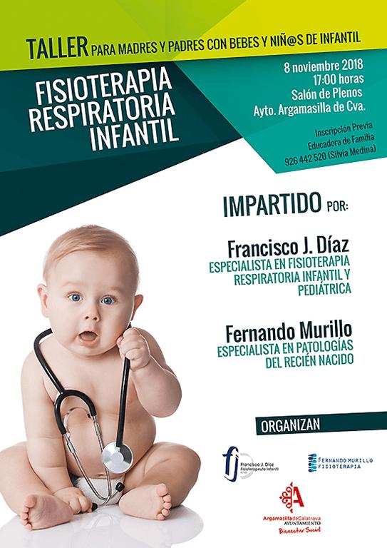 El Ayuntamiento organiza un taller de fisioterapia respiratoria infantil