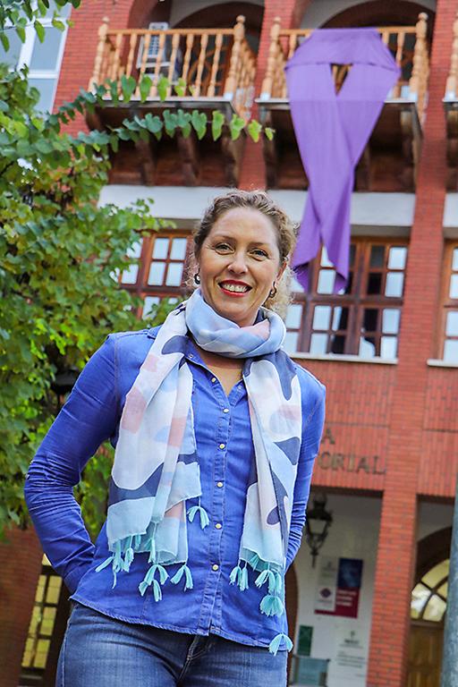 """LAURA DOMÍNGUEZ: """"El trabajo desde la educación es muy importante y la base de una sociedad igualitaria y libre de violencia de género"""""""