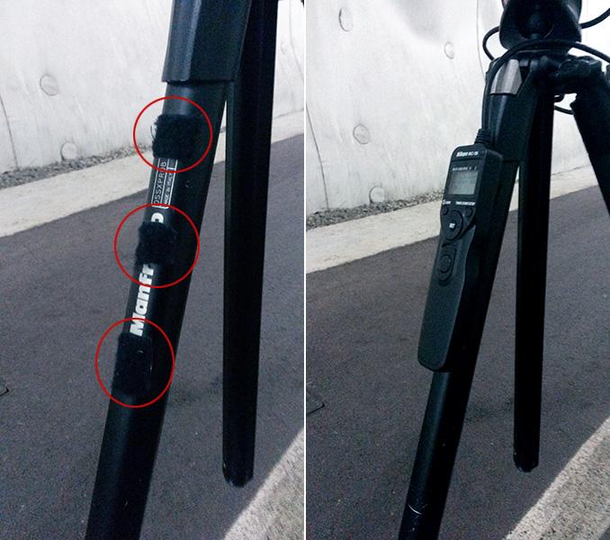 gadgets fotografia velcro para disparador remoto