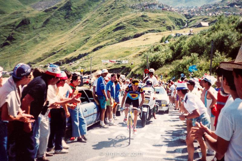 Tour de france 1990 - Luz Ardiden - Ronand Pensec