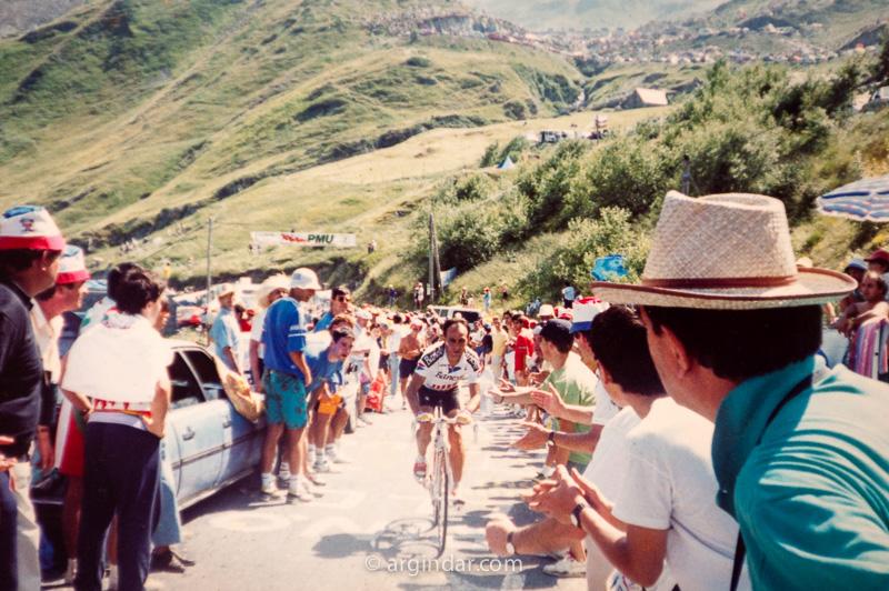 Tour de france 1990 - Luz Ardiden - Jesús Rodríguez Magro