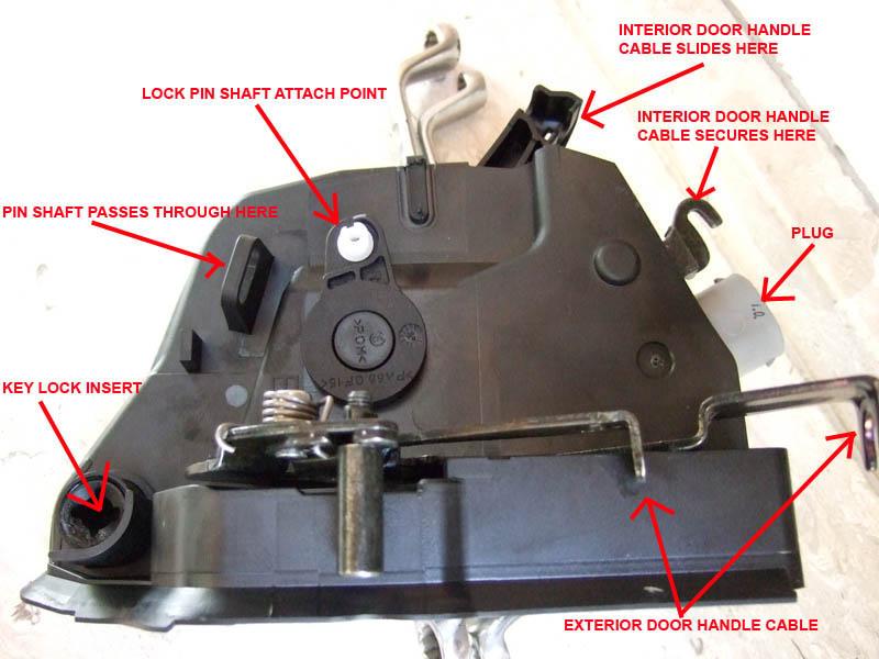 DIY Door Lock Actuator Removal  Attempt of Repair - E46Fanatics