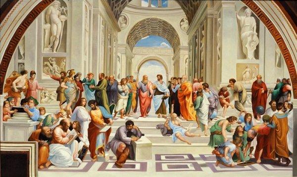 Lautentico Significato Della Scuola Di Atene Di Raffaello
