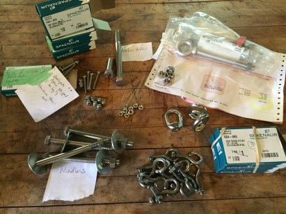 This is a sample of stainless steel bling: $266.69 from our favourite hardware store.