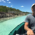 We spent a really special day at Shroud Cay rowing the full length of a mangrove creek that bisects the island...
