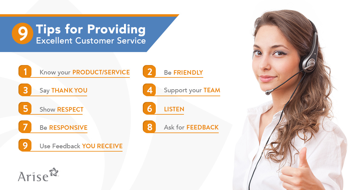 Arise Work From Home 9 TIPS FOR PROVIDING EXCELLENT CUSTOMER SERVICE