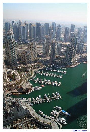Dubai, Dubai Marina, Palm Jumeirah, The Observatory Restaurant and Bar, Atlantis The Palm Hotel ...