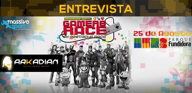 Entrevista con los organizadores de Gamers Race