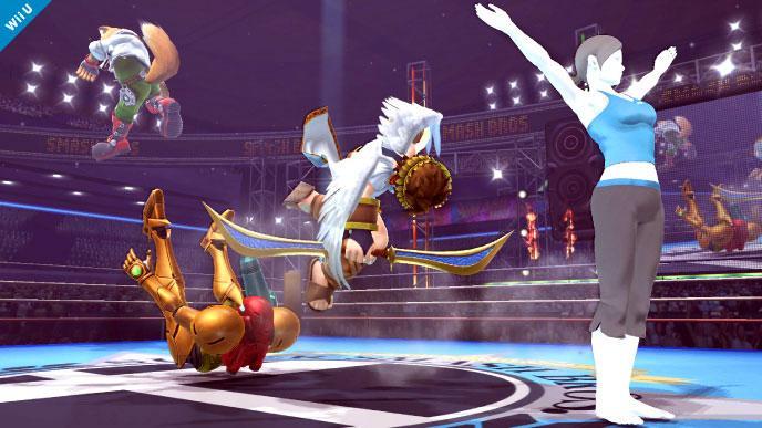 Todos los personajes femeninos de Super Smash Bros U/3DS juntos