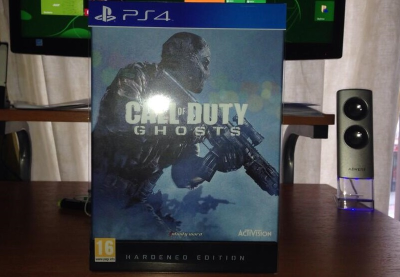 Exclusiva ARKADIAN: Unboxing Edición Hardened Call of Duty: Ghost para PS4