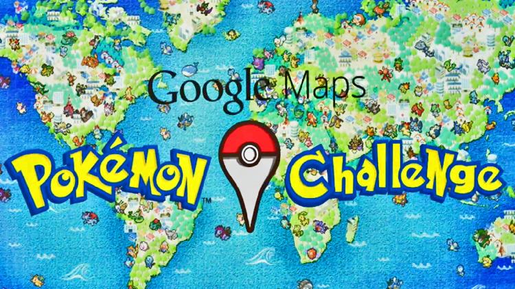 Pokémon ¡Atrápalos ya! en Google Maps