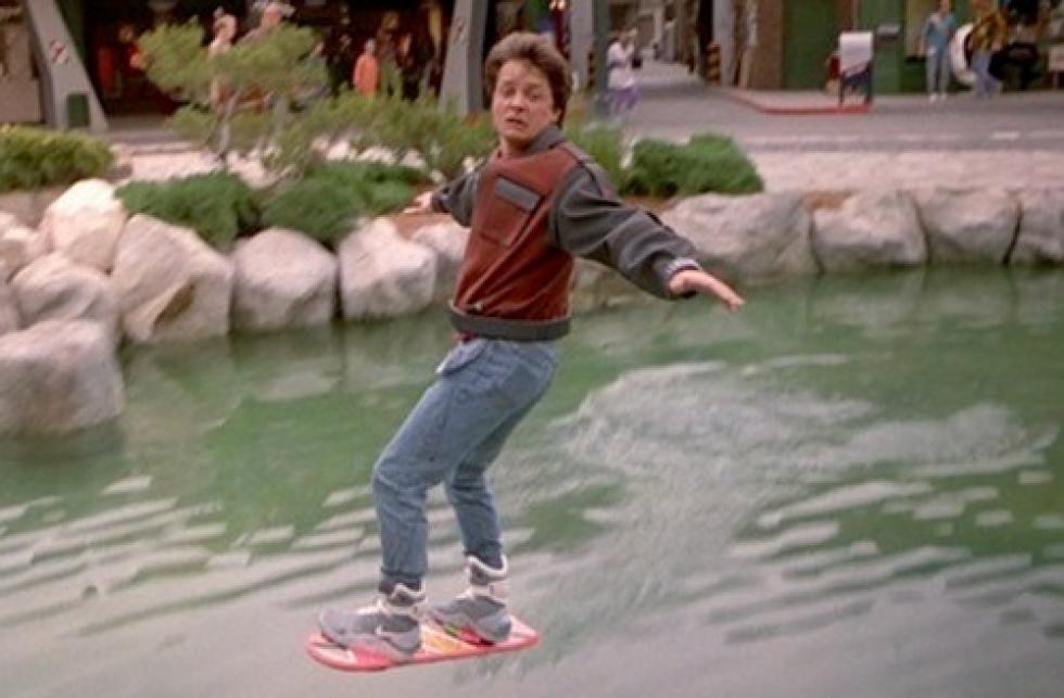 ¡La hoverboard de Volver al Futuro ya (casi) es una realidad!