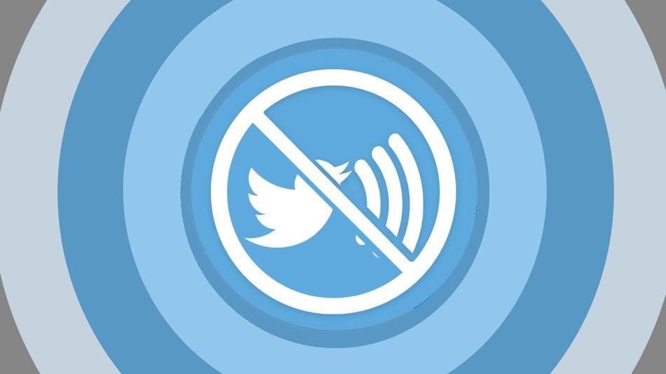 """La nueva función de twitter te permite """"silenciar"""" a un usuario."""