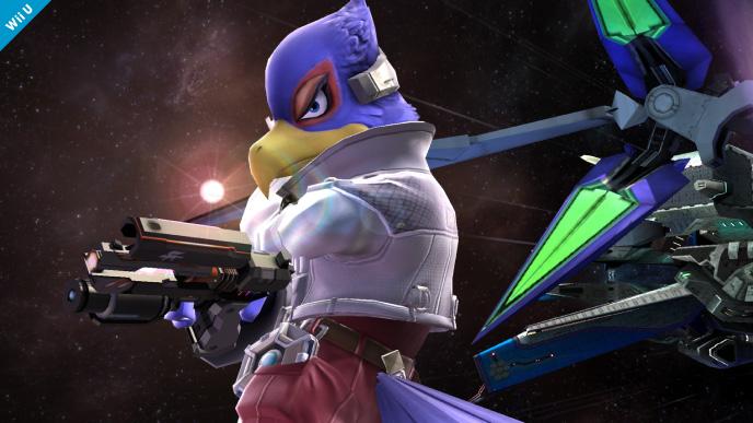 Falco y Bomberman llegan a Super Smash Bros.