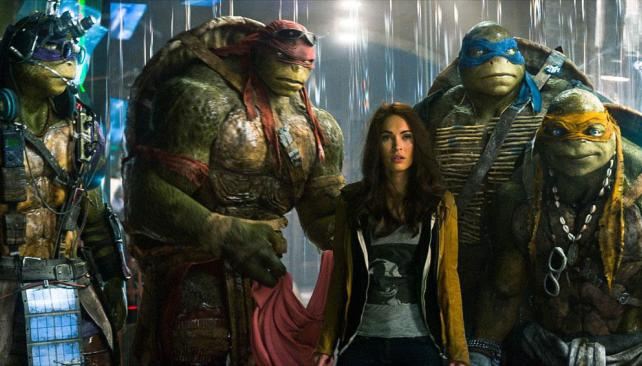 La April O´Neal original regresa a TMNT (2016)