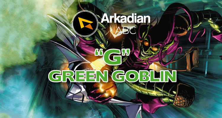 "Arkadian ABC Marvel | ""G"" de Green Goblin"