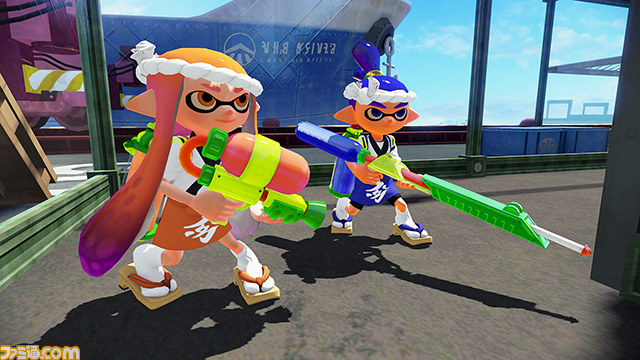 Los Transformers invaden Splatoon